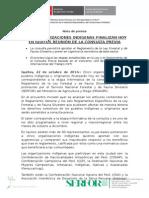 CINCO ORGANIZACIONES INDÍGENAS FINALIZAN HOY EN IQUITOS REUNIÓN DE LA CONSULTA PREVIA