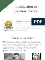 information theory- shriram
