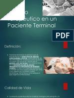 Manejo Terapéutico en Un Paciente Terminal