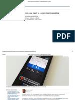 El Móvil Como Instrumento Para Medir La Contaminación Acústica - RTVE