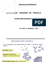 Estructura Cristalina I