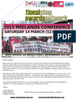 Midlands Conference 2015 First Flyer