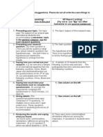 Group Project - Useful Phrases for Presentations and Reports