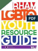 Durham LGBTQ Youth Resource Guide 2015 V1.1
