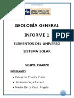 Alzamora Informe 1 Geologia General