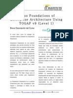 Togaf Curso L1