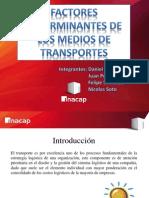 Factores Determinantes de Los Medios de Transportes (1)