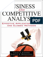 Business and Competitive Analysis Effective Application.epub