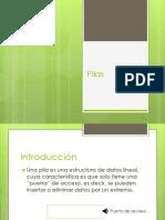 Pilas, UNIVERSIDAD, ESTRUCTURA DE DATOS, DATOS, INFORMACION