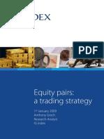 Ig Index Pairs Trading Report