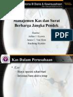 Manajemen Kas Dan Surat Berharga Jangka Pendek