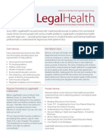 Since 2001, LegalHealth Has Partnered With Medical Professionals to Address