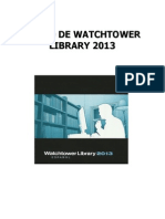 Curso de Watchtower Library 2013