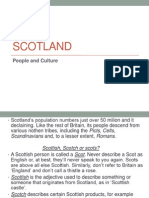 Scotland People and Culture