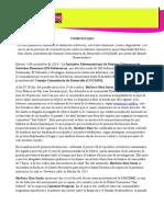 Comunicado Criminalización a Barbara Díaz Surín-Guatemala (041114)