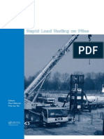 Cover & Table of Contents - Rapid Load Testing on Piles
