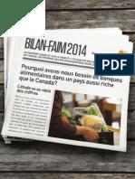 Bilan Faim 2014