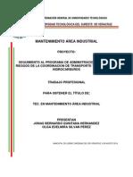 Proyecto de Seguimiento Al Programa de Administracion Integral de Riesgo