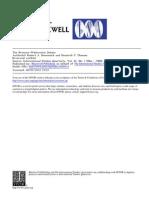 El Debate Brenner Wallerstein