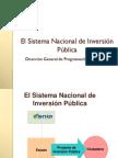 Normatividad Del SNIP