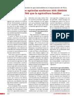 LRA 167 - Los proyectos agrícolas modernos son menos eficientes que la agricultura familiar