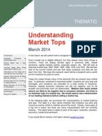 Understanding Market Tops