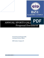 Sports Gala 2014- Proposal for Sponser Final