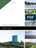 Adolescent Health Survey - Fraser South