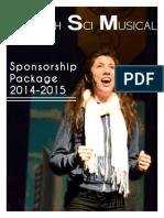 health sci musical sponsorship package