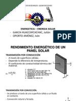 Transferencia de calor en colectores solares
