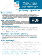GWC 2015 Sponsorship Opportunities