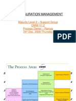Configuration Management CMMI