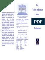 Freimaurer - die alten Pflichten