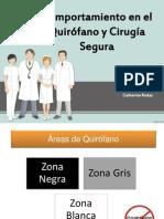 Comportamiento en El Quirofano y Cirugia Segura
