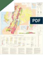 Mapa Geologico Ec 1.000.000