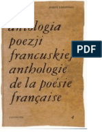 Antologia Poezji Francuskiej 4 Jerzy Lisowski