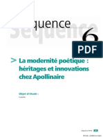 La Modernite Poetique Heritages Et Innovations Chez Apollinaire