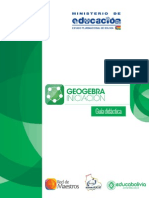 Guía General Geogebra Iniciación