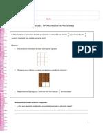 6to - Mate - Operaciones Con Fracciones 3