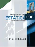 Estática Ingenieria Mecanica Hibbeler 12a Ed