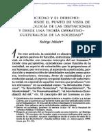 Rodrigo Jokisch Teoría de las distinciones y derecho