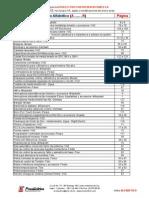 Lista de Precios Proelectrico