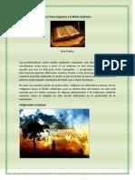 Los Textos Sagrados y El Medio Ambiente Terminado
