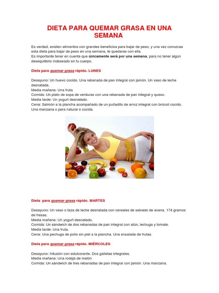 dieta arroz integral y fruta