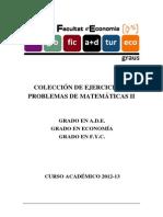 Coleccixn Problemas Matemáticas II UV