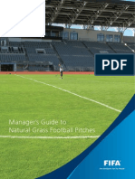 Manager's Guide to Natural Grass Football Pitches