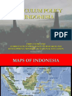 Curriculum Policy in Indonesia