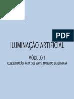 . Iluminação Artificial. Conceitos Fundamentais