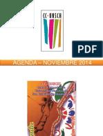 - Agenda – Noviembre 2014
