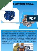 Tipos de Motores de CA